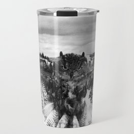 Owl Mid Flight Travel Mug