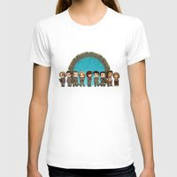 stargate T-shirts featuring Cast of Stargate Atlantis by Ravenno
