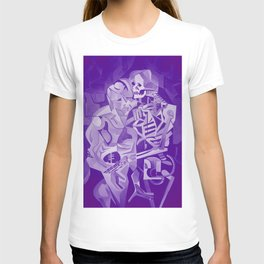 Halloween Skeleton Welcoming The Undead T-shirt