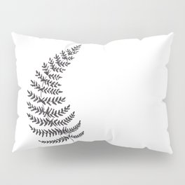 Sketch fern. Pillow Sham