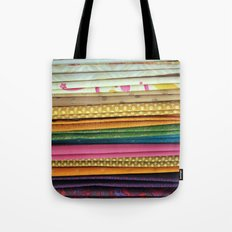 indian sarees Tote Bag
