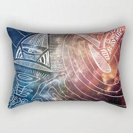 Galaxian Rectangular Pillow