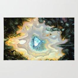 Geode Fairyland - Inverted Art Series Rug