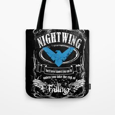 nightwing  label whiskey style Tote Bag