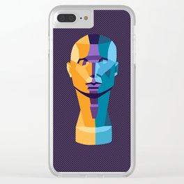 Triad Head Clear iPhone Case