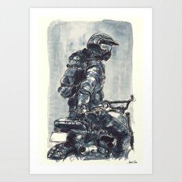 Rider 1905 Art Print