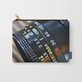 Retro photo camera lens Carry-All Pouch
