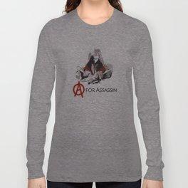 A for Assassin Long Sleeve T-shirt