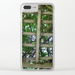 Into the garden Clear iPhone Case