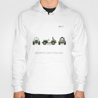 jeep Hoodies featuring Jeep by priby