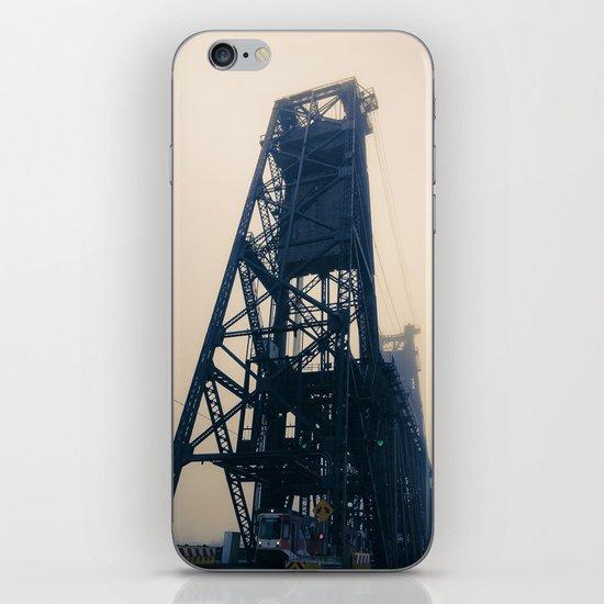 Steel Bridge, Portland, Oregon iPhone & iPod Skin