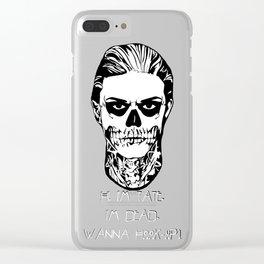 Hi, I'm Tate Clear iPhone Case