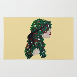 STRAWBERRY VINE TRESSES Rug