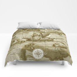 Insula Antillia Comforters