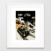movie poster Framed Art Prints featuring Movie Poster by Jamie Givens
