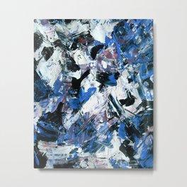 Disintegration Metal Print