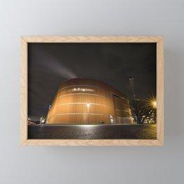 Power plant Stockholm Framed Mini Art Print