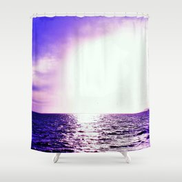 Purple Escape Shower Curtain