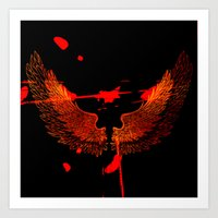 On The Wings of a Dream Art Print
