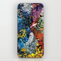 xmen iPhone & iPod Skins featuring The XMen by MelissaMoffatCollage