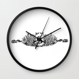 The S  Wall Clock
