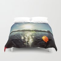 sparkle Duvet Covers featuring Sparkle by M.R.Power