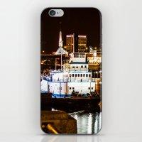 portland iPhone & iPod Skins featuring Portland by Sam Cockayne