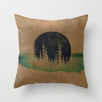 oasis Throw Pillows featuring oasis? by KrisLeov