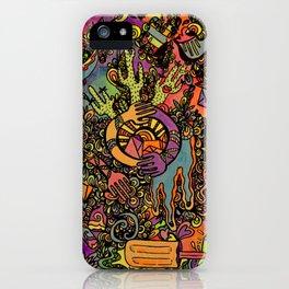 Psychedelic Desert iPhone Case