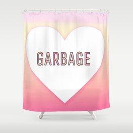 Garbage Shower Curtain