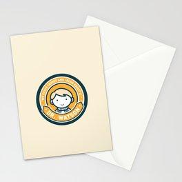 Cute John Watson - Orange Stationery Cards