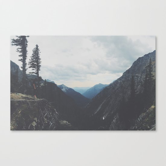 Hidden Mountain Range Canvas Print