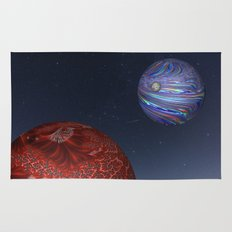 Earth From Mars Rug