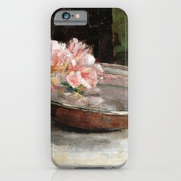 Abbott Handerson Thayer - Still Life - Digital Remastered Edition iPhone Case