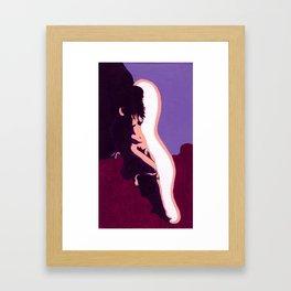 Resurrection of Love - Birth Framed Art Print