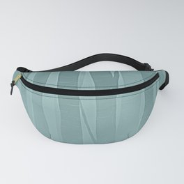 Woodland - Minimal Birch Forest Landscape Fanny Pack