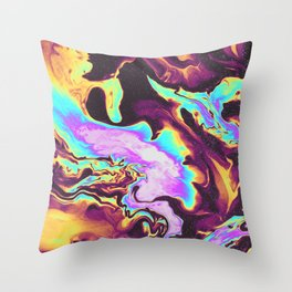 WHEN THE NIGHT IS OVER Throw Pillow