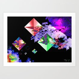 Diamonds of Nature Art Print
