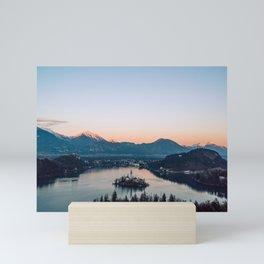 Glowing Bled Mini Art Print