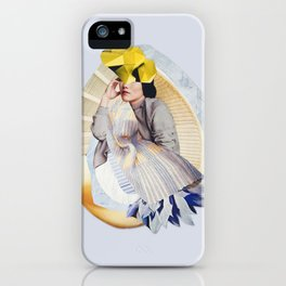 ASIAN WOMAN GREY iPhone Case