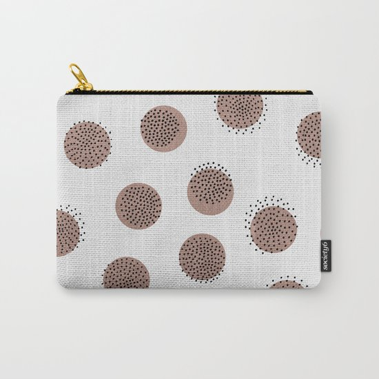 Dots over Dots Carry-All Pouch