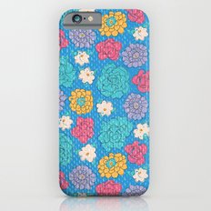 RocoFloral (blueberry) Slim Case iPhone 6s