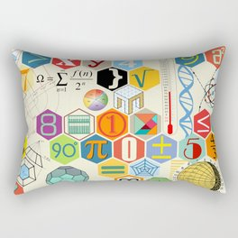 Math in color Rectangular Pillow