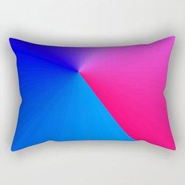 Northern Lights meet Sunrise Rectangular Pillow