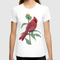 virginia T-shirts featuring Virginia Cardinal by ArtLovePassion