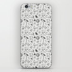 Doodle Birds Seamless Patterns iPhone & iPod Skin