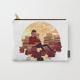 Book Lover Boy Carry-All Pouch
