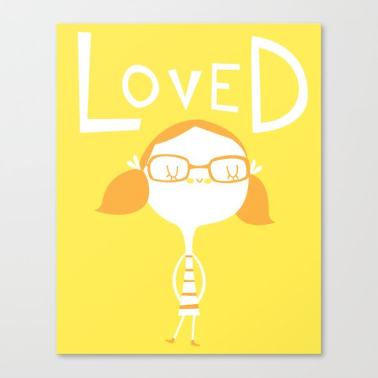 LOVED Canvas Print