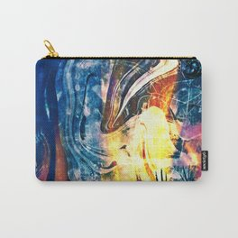 Painted Lady Abstract Carry-All Pouch