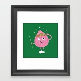 Onion Ring Framed Art Print